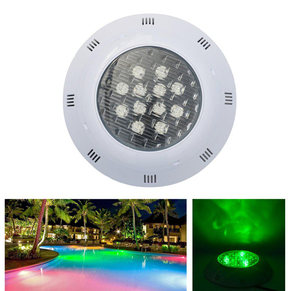 rgb color jiawen 12w ip68 waterproof rgb led underwater swimming pool light dc 12 24v. Black Bedroom Furniture Sets. Home Design Ideas