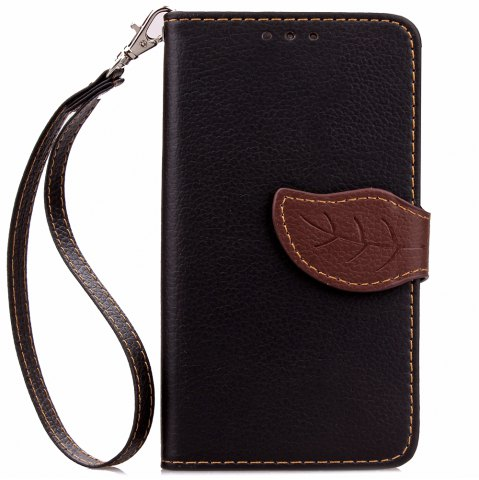Sale Love Leaf Card Lanyard Pu Leather for Lenovo A536