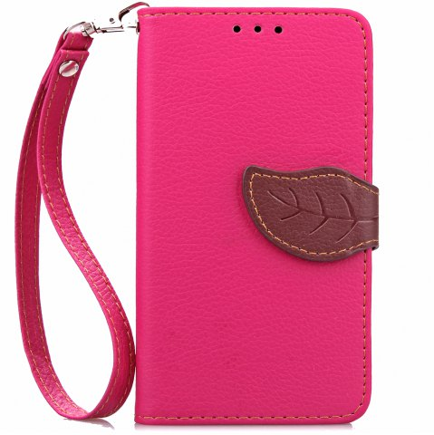 Discount Love Leaf Card Lanyard Pu Leather for Lenovo A536