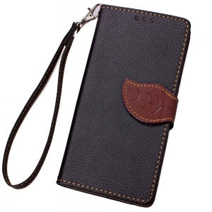 Love Leaf Card Lanyard Pu Leather for Lenovo P70 -