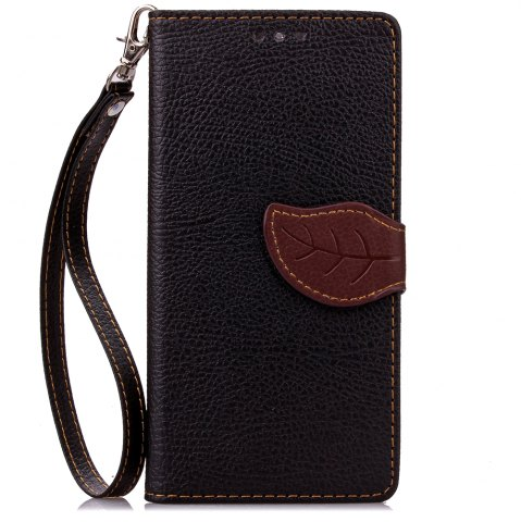 Hot Love Leaf Card Lanyard Pu Leather for Lenovo P70