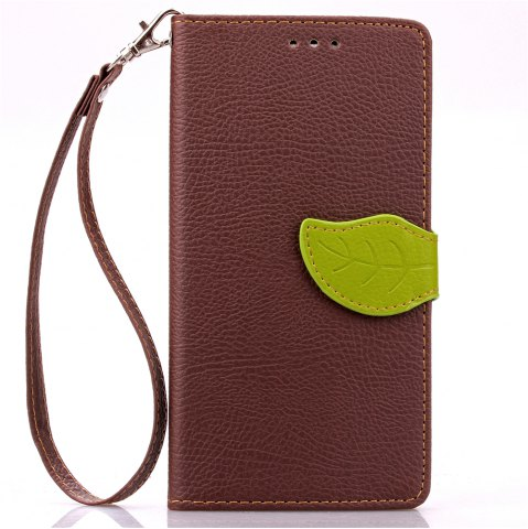 Best Love Leaf Card Lanyard Pu Leather for Lenovo K3 NOTE