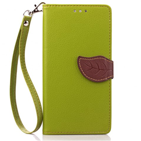 Sale Love Leaf Card Lanyard Pu Leather for Lenovo K3 NOTE