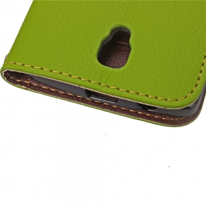 Love Leaf Card Lanyard Pu Leather for Lenovo A2010 -