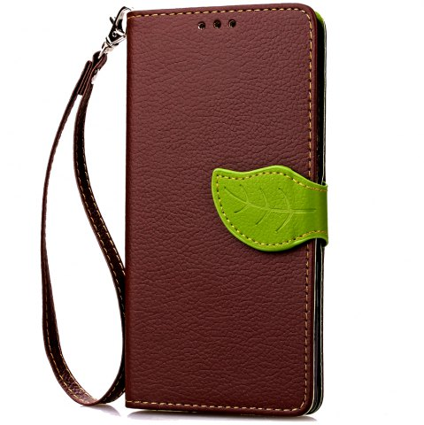 Shops Love Leaf Card Lanyard Pu Leather for Lenovo A2010