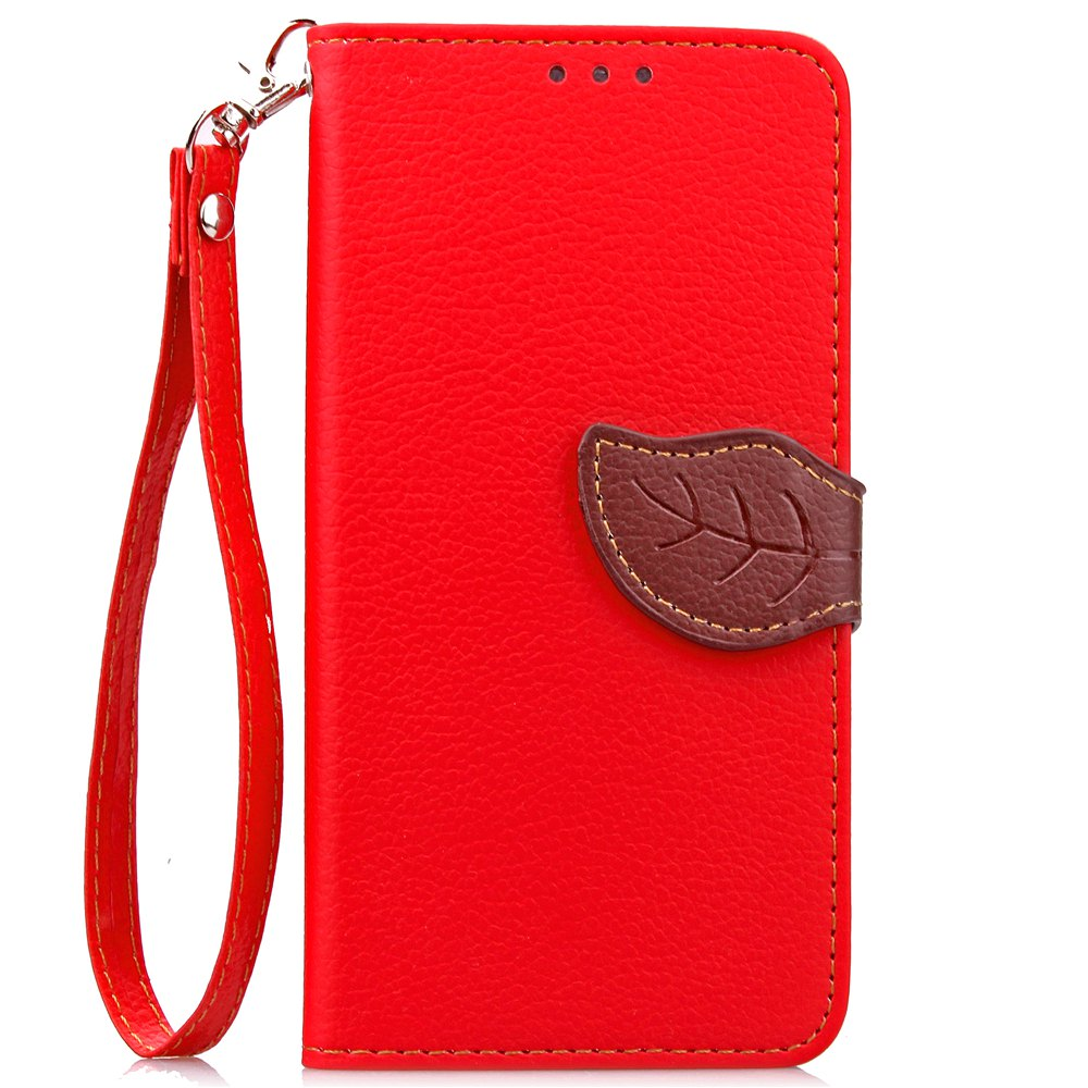 Fashion Love Leaf Card Lanyard Pu Leather for Lenovo A2010