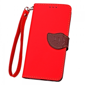 Love Leaf Card Lanyard Pu Leather for Lenovo -