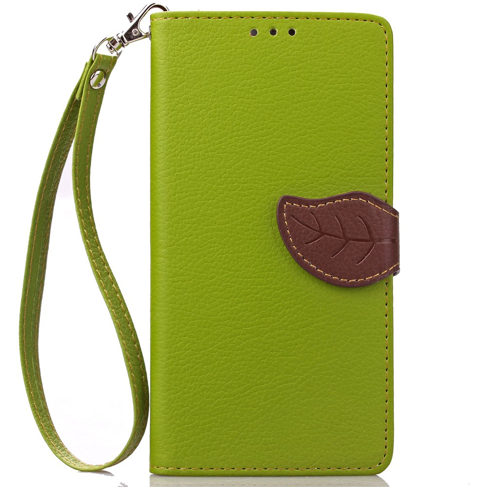 Sale Love Leaf Card Lanyard Pu Leather for Lenovo P1