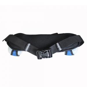 Hydration neoprene running belt with 2 bottles -