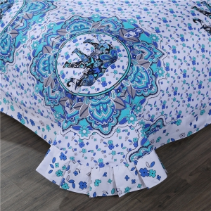 2pcs Fashion Personalized 3D Polyester  Bedding Set Twin -