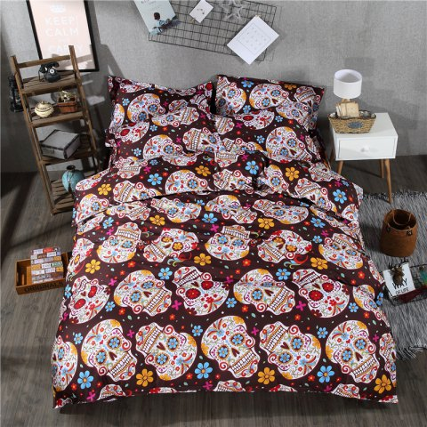 Unique 2pcs Fashion Personalized 3D Polyester  Bedding Set Twin