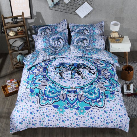 Fashion 2pcs Fashion Personalized 3D Polyester  Bedding Set Twin