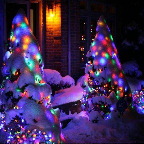 KWB LED Lampes de Noël solaires 7M 50Balls Fairy Decorative String Lights for Holiday Decorations RGB
