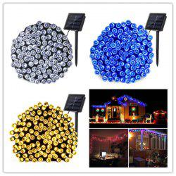 KWB LED Solar Christmas Lights 7M 50Balls Fairy Decorative  String Lights for Holiday Decorations - WHITE LIGHT