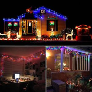 KWB LED Solar String Lights 12M 100balls Christmas New Year Lamps White / Warm White / Blue / Red /  RGB -
