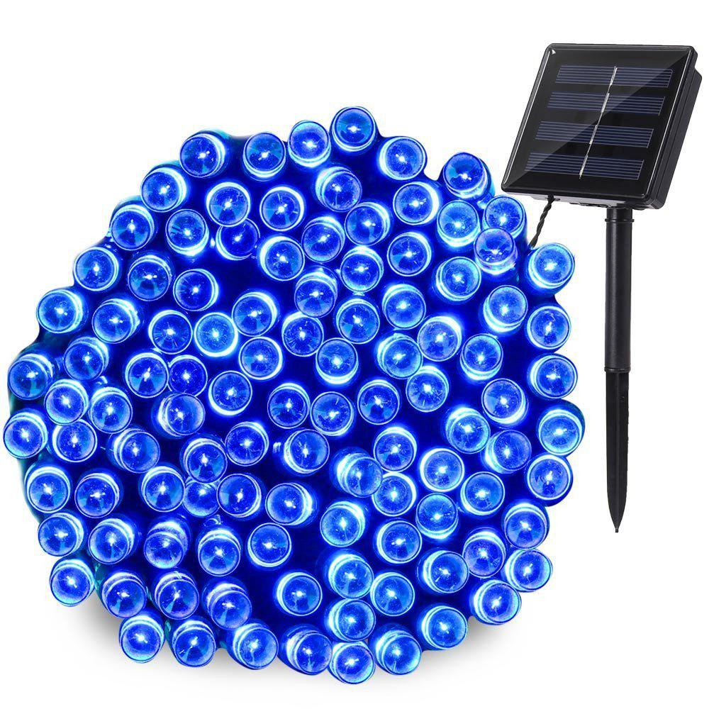 Affordable KWB LED Solar String Lights 12M 100balls Christmas New Year Lamps White / Warm White / Blue / Red /  RGB