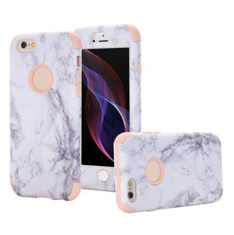 Shops Marble Design Hard Impact Dual Layer Shockproof Bumper Case for iPhone 6 Plus / 6S Plus