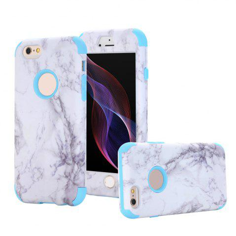 Fashion Marble Design Hard Impact Dual Layer Shockproof Bumper Case for iPhone 6 Plus / 6S Plus