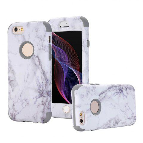 Outfit Marble Design Hard Impact Dual Layer Shockproof Bumper Case for iPhone 6 Plus / 6S Plus