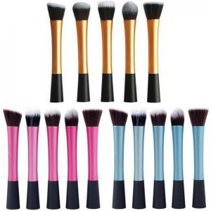 Ensemble de tâches multijoueurs TOTO 5PCS Pro Duo-Fiber Face Makeup Brush -