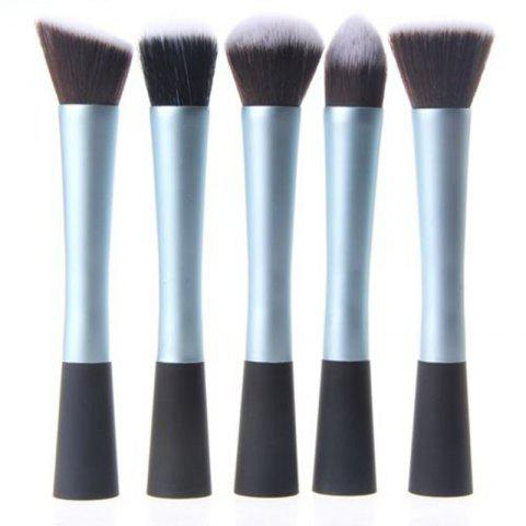 Ensemble de tâches multijoueurs TOTO 5PCS Pro Duo-Fiber Face Makeup Brush