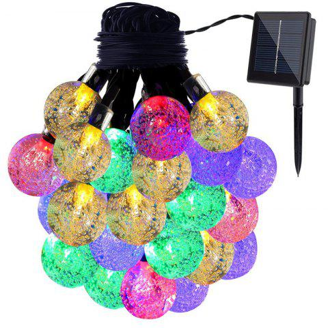 KWB LED Solar String Lights 7M 50 boules LED Crystal Ball imperméable à l'eau