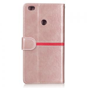 Elegant Style Back Magnetic Buckle Flip PU Leather Wallet Case for Xiaomi Mi Max 2 -