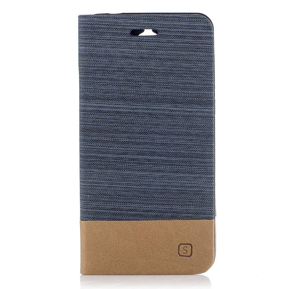 Shops Simple Style Canvas Design Flip PU Leather Case for Huawei Y5 2017