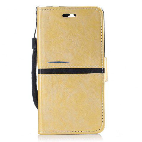 Trendy Elegant Style Back Magnetic Buckle Flip PU Leather Wallet Case for Huawei Y5 2017