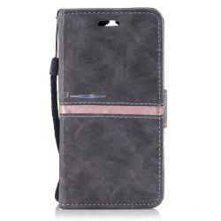 Elegant Style Back Magnetic Buckle Flip PU Leather Wallet Case for Huawei Y5 2017 -