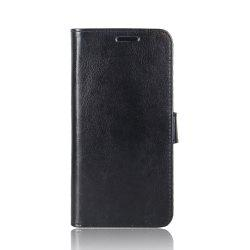 Durable Crazy Horse Pattern Back Buckle Flip PU Leather Wallet Case for ASUS Zenfone 4 5.5 inch (ZE554KL) -