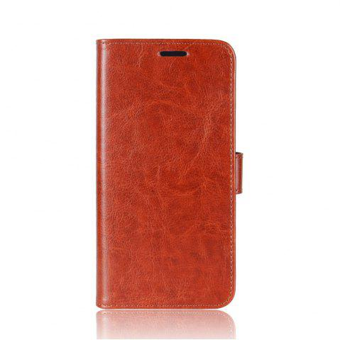 Sale Durable Crazy Horse Pattern Back Buckle Flip PU Leather Wallet Case for Samsung Galaxy S8 Active