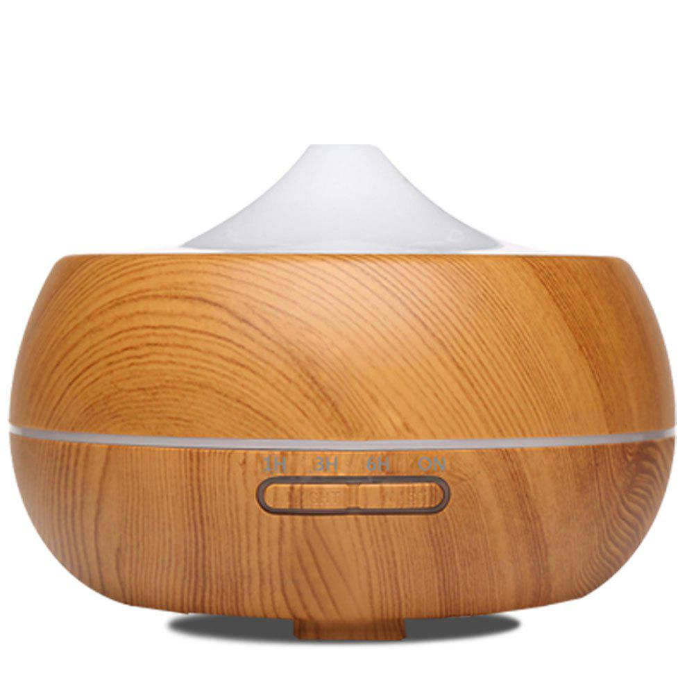 Electric Air Freshener Ultrasonic Aromatherapy Diffuser 300mlHOME<br><br>Size: EU PLUG; Color: LIGHT WOODGRAIN;