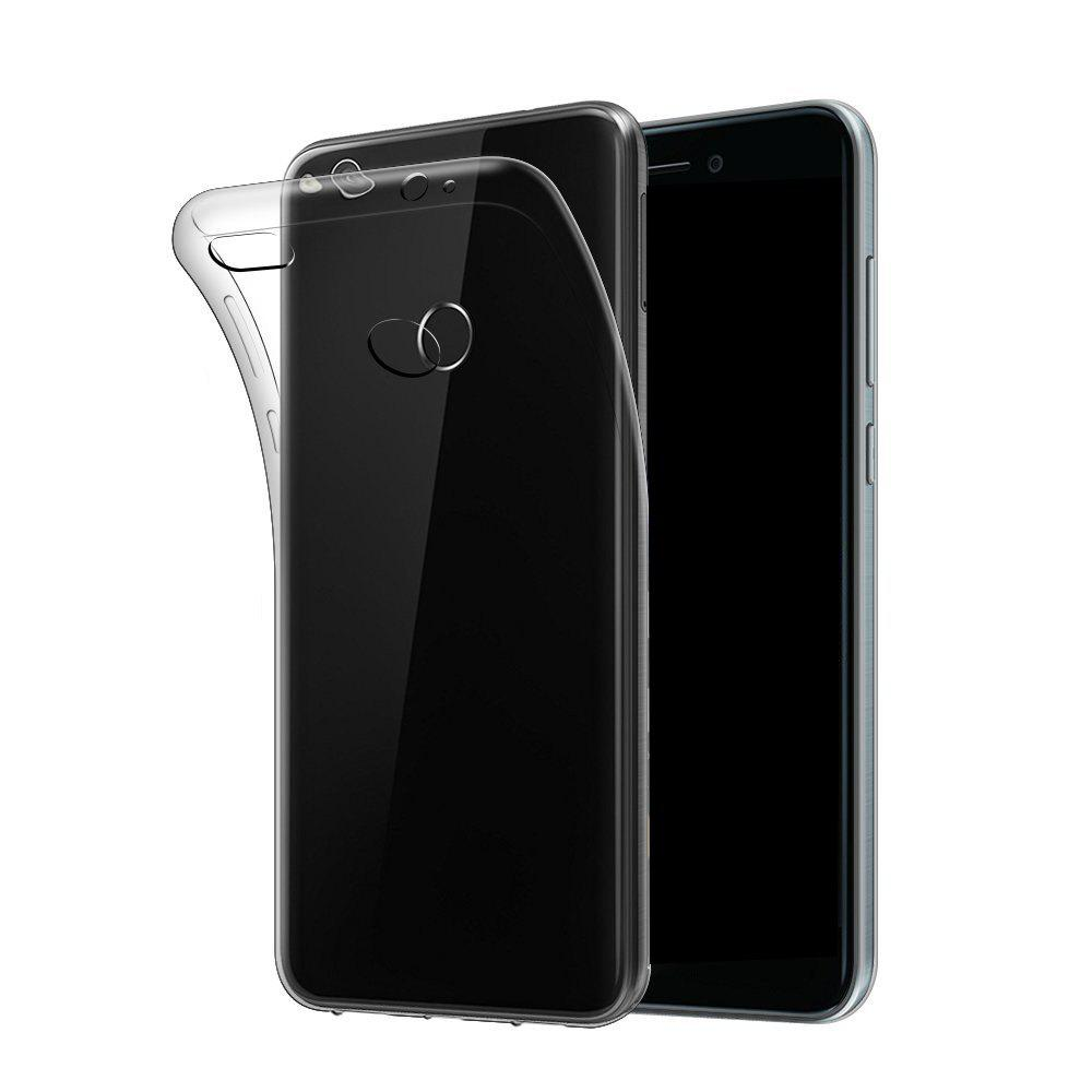 Ultrathin Shock-Absorption Bumper Tpu Clear Case for Huawei P8 LiteHOME<br><br>Color: TRANSPARENT;