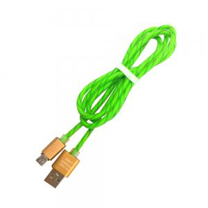 New 10PCS Micro USB / V8 Two-color Candy Line / Phone Fast Charging Line -