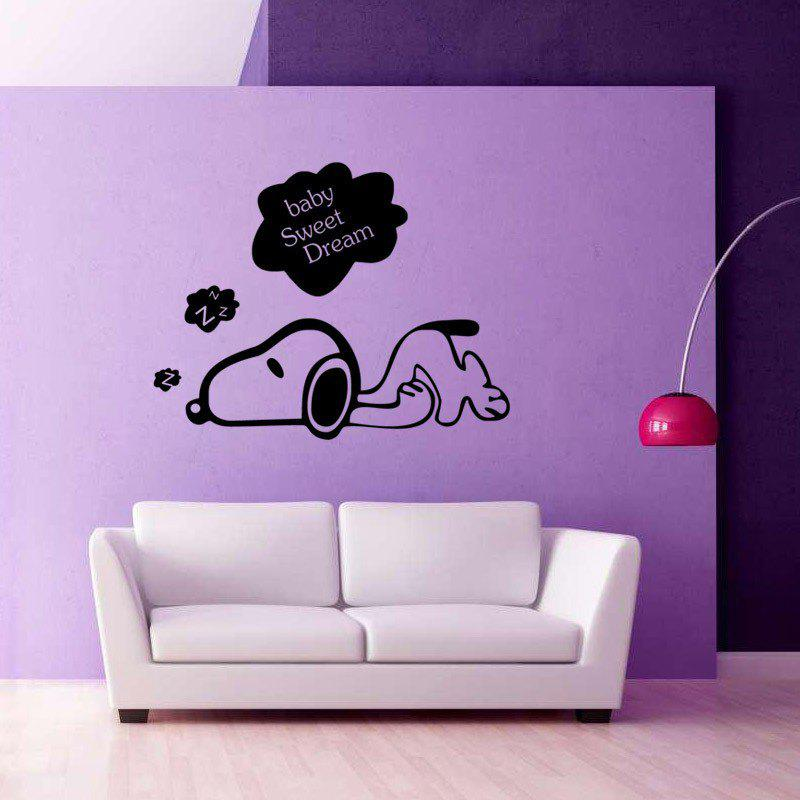 Designing A Baby S Room Consider The Following Points: 2019 Yeduosleeping Puppy Bedroom Wall Stickers Vinyl Home