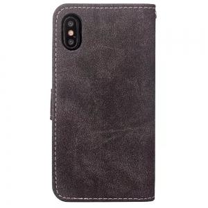 PU Leather Cover Case for iPhone X case -
