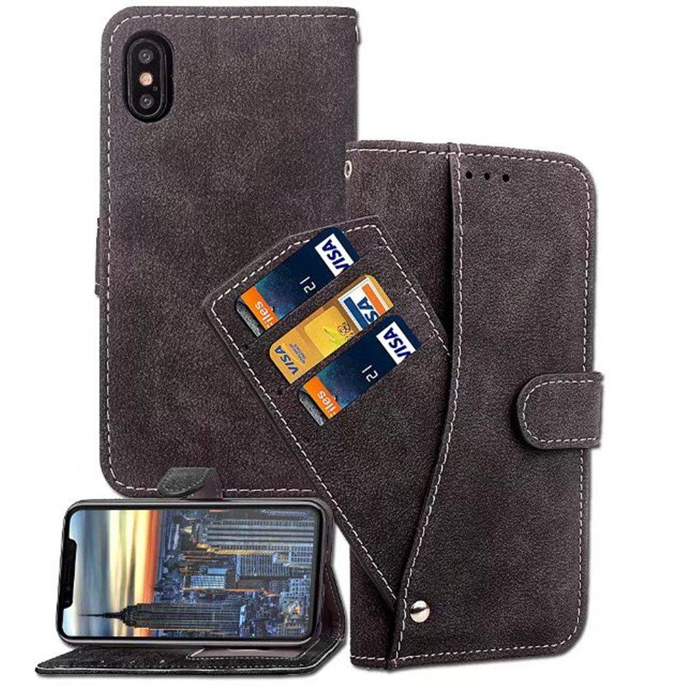 Fashion PU Leather Cover Case for iPhone X case