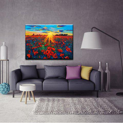 Outfit Yhhp Hand Painted Abstract Flower Sea oil Painting