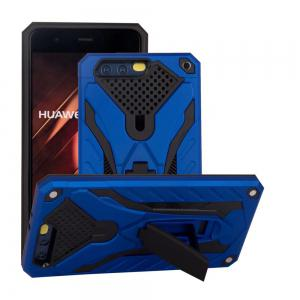 Wkae Toruk Makto Pu Leather Case Cover Kickstand for Huawei P10 Plus -