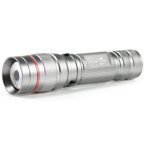 Store Ultrafire Xpe R2 389LM 3 Files Compact Telescopic Focus Flashlight FROST