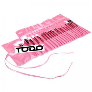 Todo 22PCS Pink Professional Cosmetic Soft Brush Set for Makeup -
