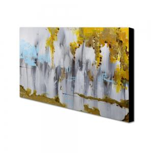 Yhhp Hand Painted Abstract Decoration Canvas Oil Painting -
