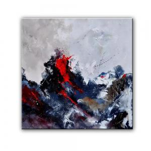 Yhhp Abstract Hand Painted Decoration Canvas Oil Painting -