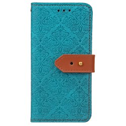 Wkae European Mural Leather Case Cover with Card Slots And Kickstand for Samsung Galaxy Note 8 -