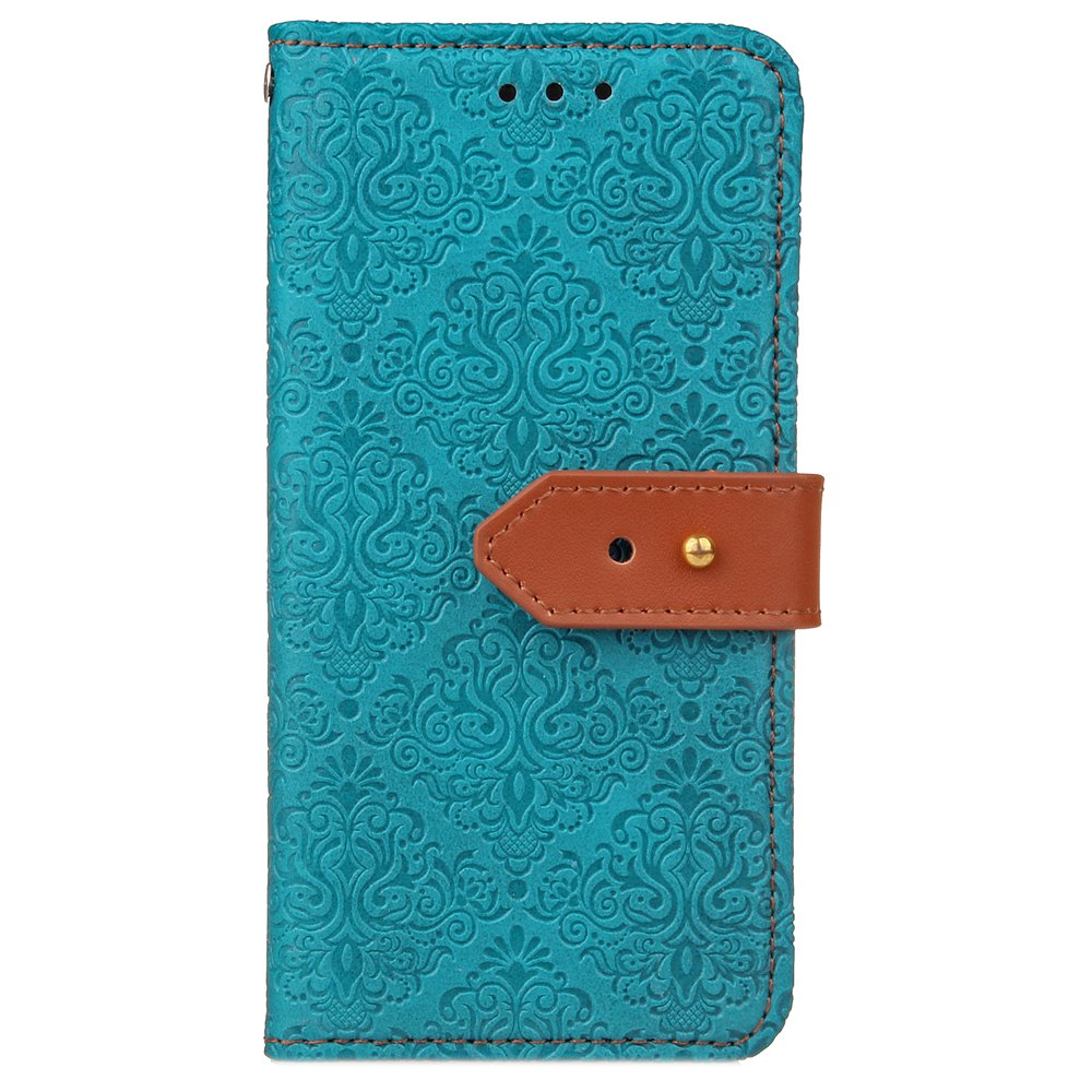 Shop Wkae European Mural Leather Case Cover with Card Slots And Kickstand for Samsung Galaxy Note 8