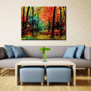 Yhhp Hand Painted Mangrove Decoration Canvas Oil Painting -