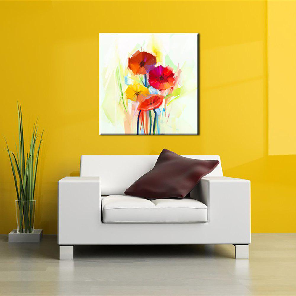 Yellow/red 24 X 24 Inch (60cm X 60cm) Yhhp Hand Painted Oil Painting ...