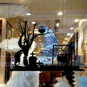 Mcyh Wl96 Ghost Tree Living Room Bedroom Background Decoration Sticker -