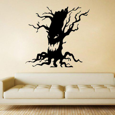 Best Mcyh Wl97 Ghost Tree Living Room Bedroom Background Decoration Sticker BLACK 57*60CM